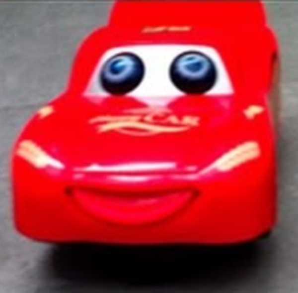 Lightning McQueen After His Accident In Cars 3