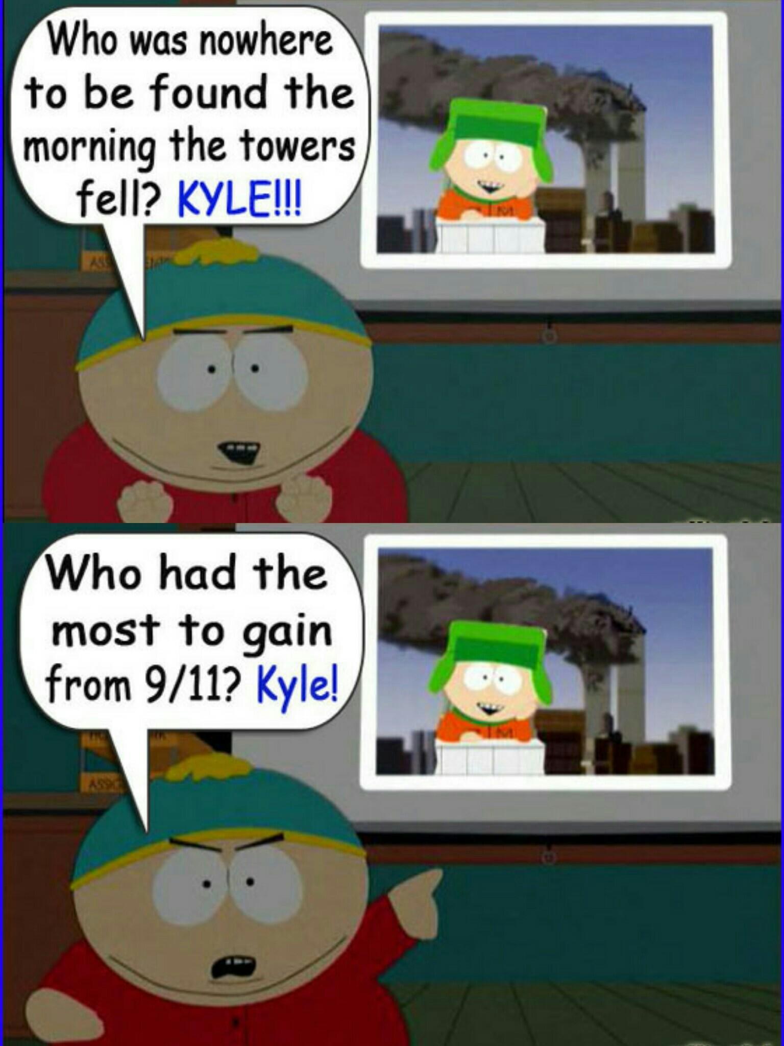Kyle Is Evil | South Park | Know Your Meme