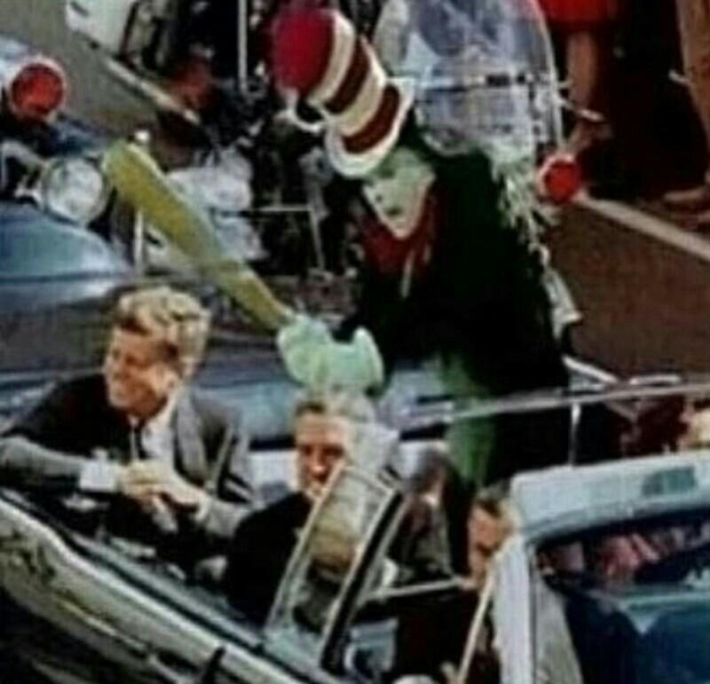 Jfk Assassination Cat In The Hat