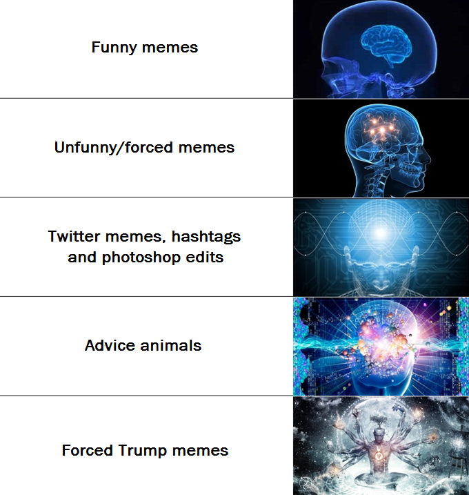 I Would Have Included Vine And 9gag Memes, But One Is Dead