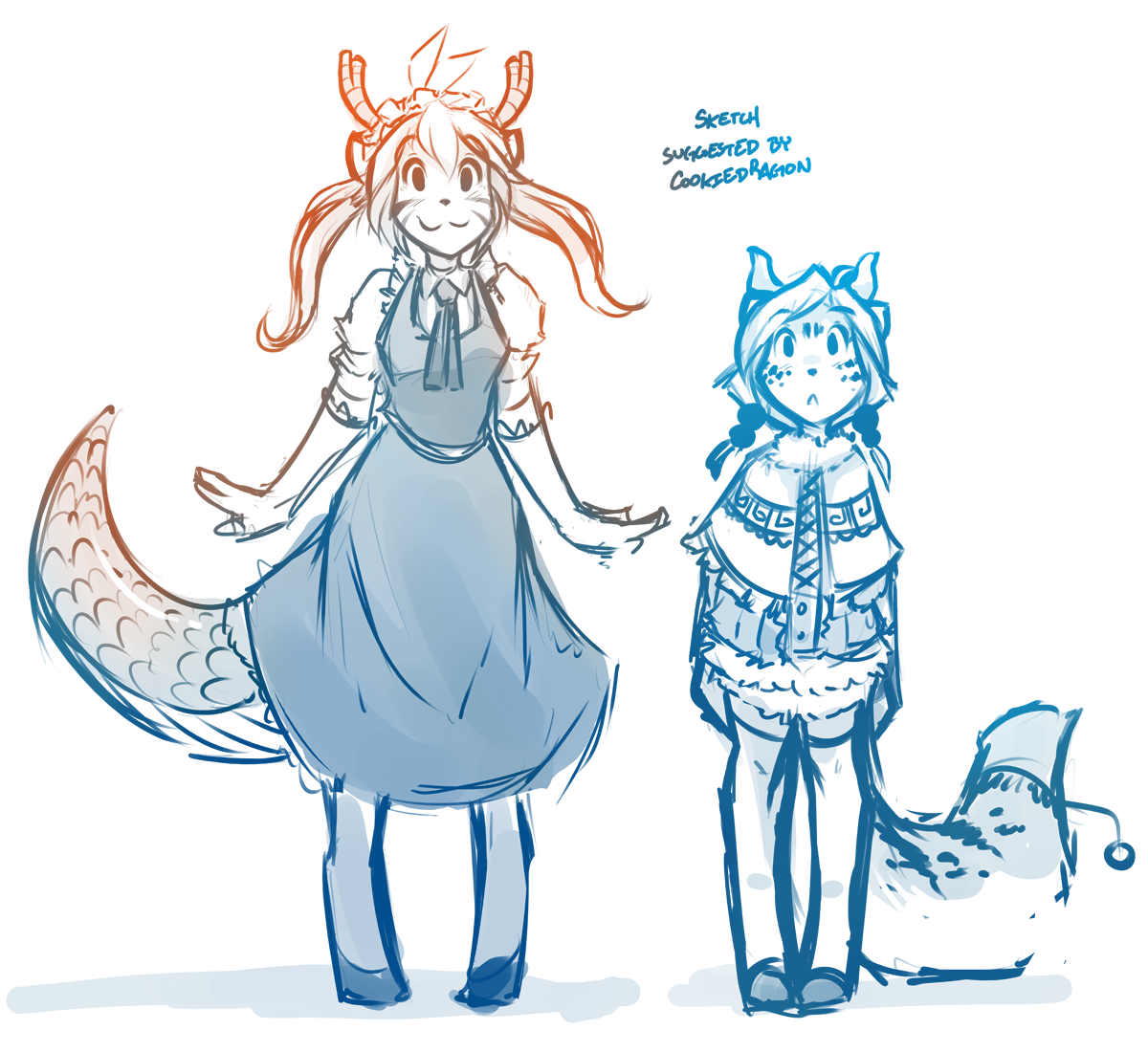 Mister Trace S Furry Dragon Maid Miss Kobayashi S