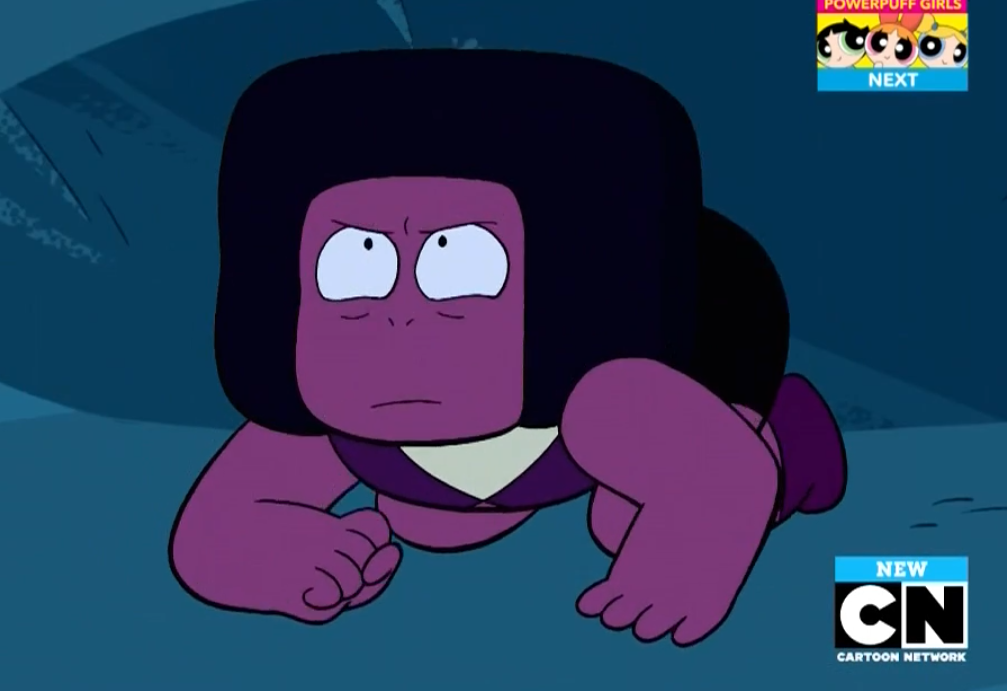 Navy Just Before She Jumps At Steven Steven Universe