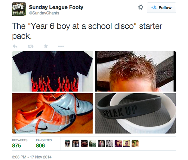 Year 6 boy at the school disco starter packs know your for Schoolboy q girl power shirt
