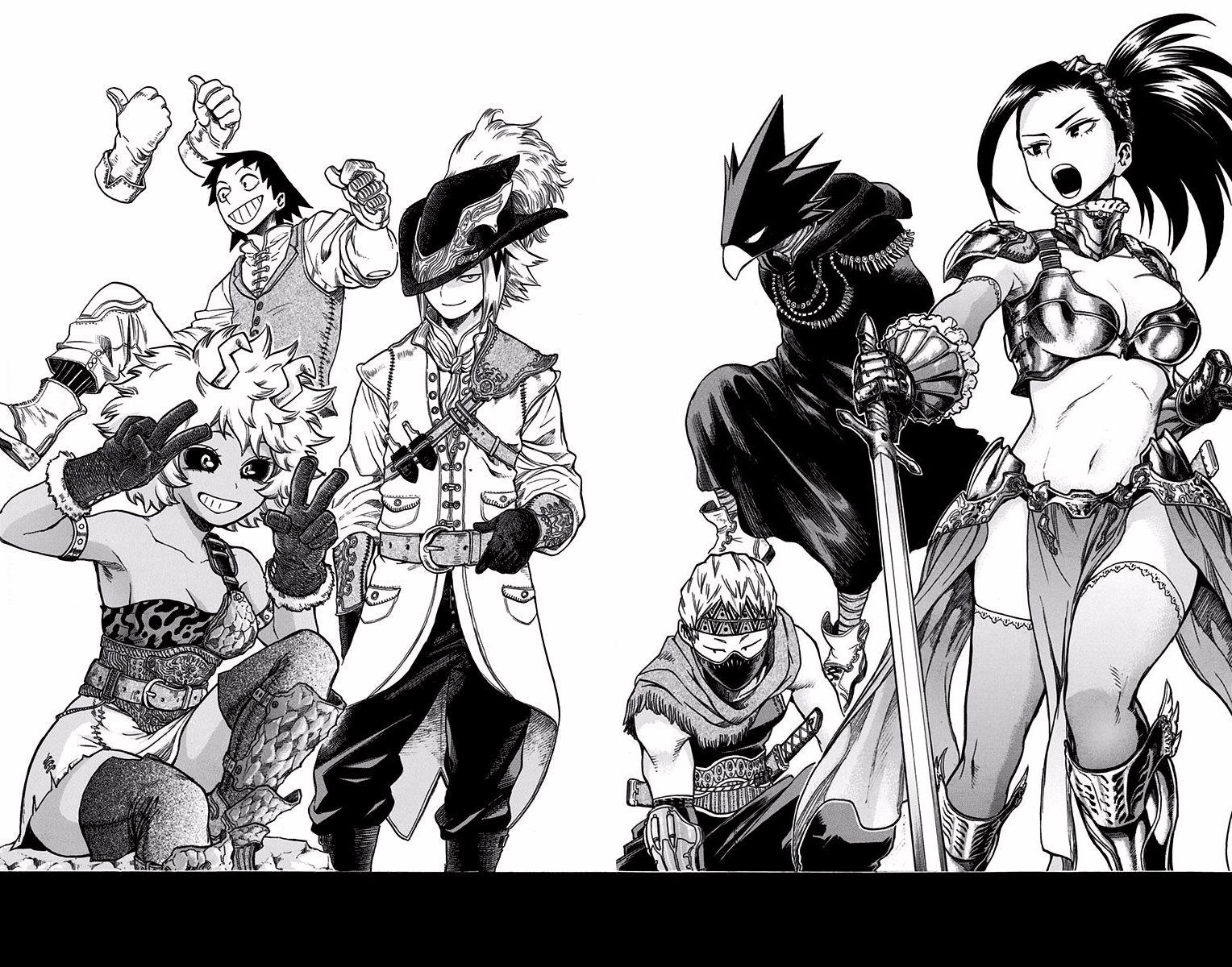From Vol 14 Omake My Hero Academia