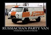 4chan Party Van