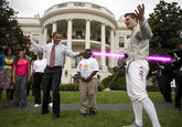 Lightsaber Obama