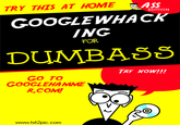 Googlewhacking