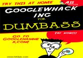 Googlewhacking