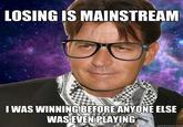 Hipster Charlie Sheen