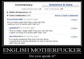 """English, Do You Speak It? / Does He Look Like A Bitch? / Say """"what"""" Again."""