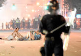 Vancouver Riot Kiss
