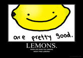 Lemons Demotivational