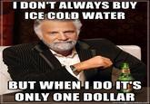 Ice Cold Water Man at Otakon 2011