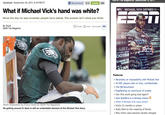 What if Michael Vick Were White