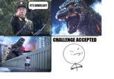 Godzilla Challenge!