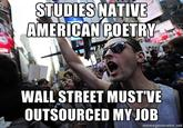Annoying College Kid - Occupy Wall Street