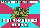 Good Worker Machamp