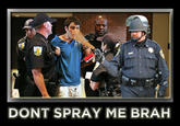 Casually Pepper Spray Everything Cop