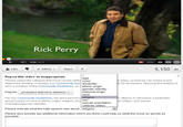 Rick Perry's &quot;Strong&quot; Ad
