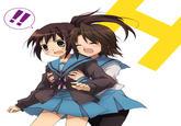 The Gender-Flip of Haruhi Suzumiya