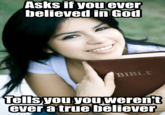 Condescending Christian