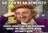 Condescending Wonka / Creepy Wonka