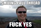 Smiling Paul