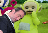 Jean Dujardin Sleeping