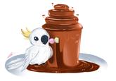 Chocolate Bird