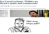 Critic Escobar / What's wrong with you, people?