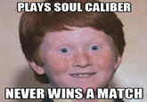 Over Confident Ginger