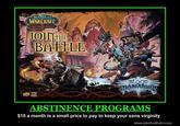 Involuntary Abstinence
