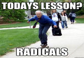 Skateboarding Professor