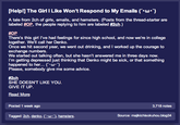 [Help!] The Girl I Like Won't Respond to My Emails (´・ω・`)