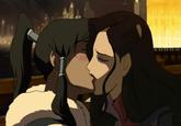 Crying Bolin / Kissing Korra