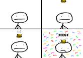 Het is Feest/Toetjesman