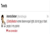 Amanda Bieber's Tweets