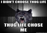 I Didn't Choose The Thug Life, The Thug Life Chose Me