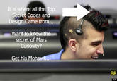 NASA Mohawk Guy
