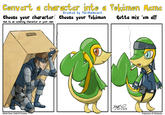 Pokefication / Pokefied Characters