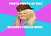 Scumbag Fat Girl