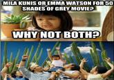 Why Not Both / ¿por qué no los dos?
