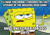 Tough Spongebob / I Only Cried For 20 Minutes
