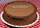 Apology Cakes