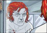 Frank Castle's face