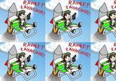 Rocket Lawnchair