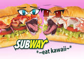 Subway Sandwich Porn