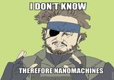 Nanomachines, Son
