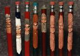 Pencil Carving Art