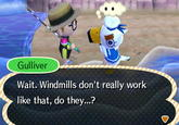 Windmills do not work that way!